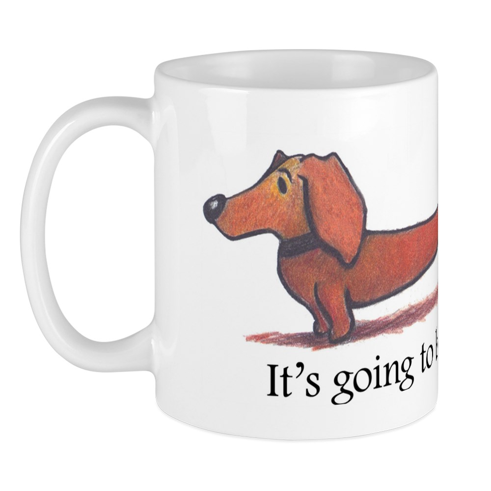 CafePress Long Day Dachshund Mug 11 oz Ceramic Mug 1186004531
