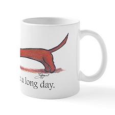 Long Day Dachshund Small Mug