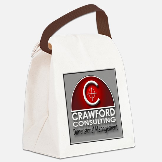 Crawford Consulting Canvas Lunch Bag