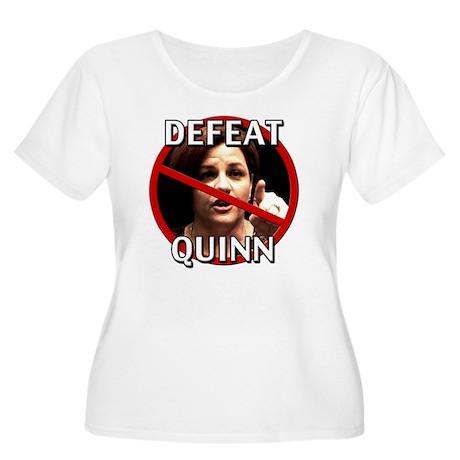 Defeat Christ Women's Plus Size Scoop Neck T-Shirt