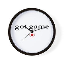 GOT GAME Wall Clock