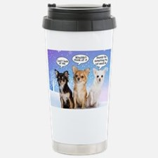 Funny Chihuahua Christm Stainless Steel Travel Mug