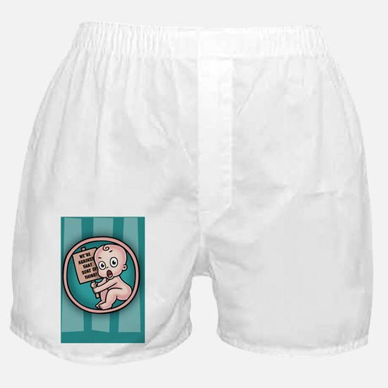 protest-womb-CRD Boxer Shorts