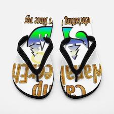 Camp WanaBeerEh Flip Flops