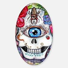 Sugar Skull in the Garden Decal