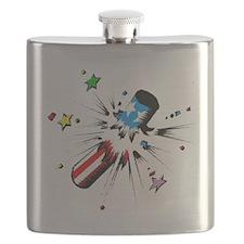 4th of July Firecracker Flask