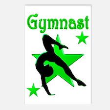 GYMNAST QUEEN Postcards (Package of 8)
