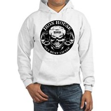 Iron House Muscle Skull Hoodie