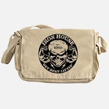 Iron House Muscle Skull Messenger Bag