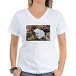 Valuable Pet Lesson #8 Women's V-Neck T-Shirt