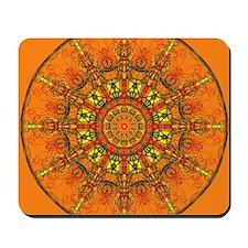 Harmony in Orange Mousepad