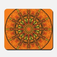 Harmony in Orange Mousepad