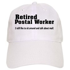 Retired Postal worker talk about mail Baseball Cap