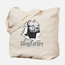 The Pit Bull Dog Father Tote Bag