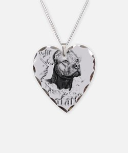 The Pit Bull Dog Father Necklace