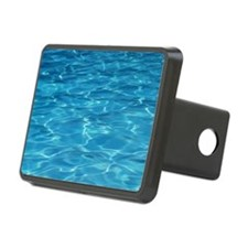 Blue Pool Hitch Cover