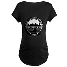 Buffalo logo black and whit T-Shirt