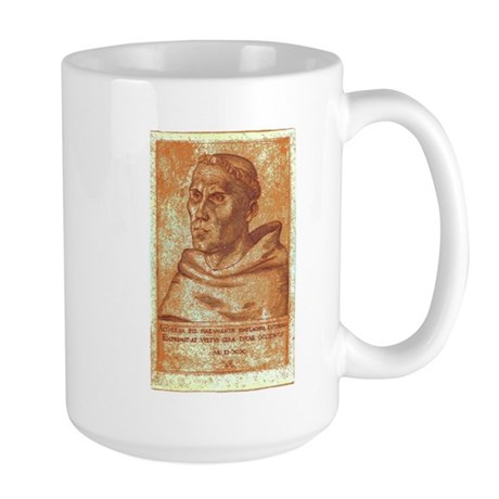 Luther the Monk Large Mug