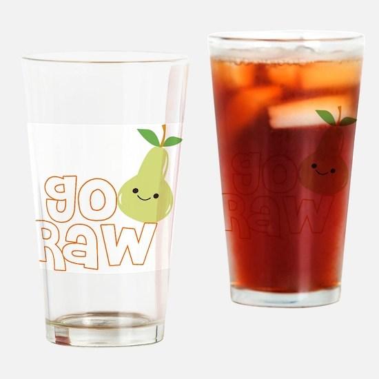 Go Raw Drinking Glass