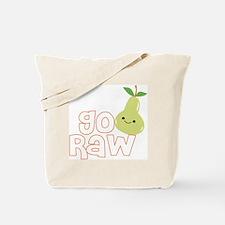 Go Raw Tote Bag