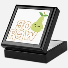 Go Raw Keepsake Box