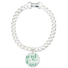 Irish You Were Beer Star Charm Bracelet, One Charm