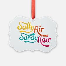 Salty Air Sandy Hair Ornament