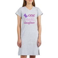 One Fabulous Daughter Women's Nightshirt