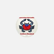 BWI Southern Maryland crab logo Mini Button