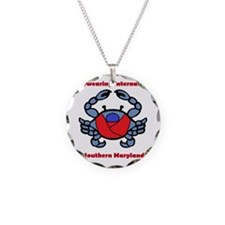 BWI Southern Maryland crab l Necklace
