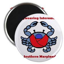 BWI Southern Maryland crab logo Magnet