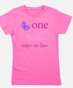 One Fabulous Sister-In-Law Girl's Tee