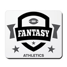 fantasy football athletics Mousepad