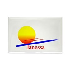 Janessa Rectangle Magnet