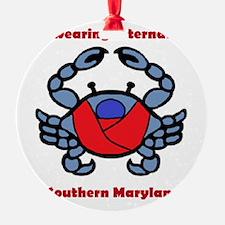Crab Logo Ornament