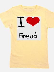 I Love Freud Girl's Tee