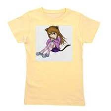Chibi Cat Girl's Tee