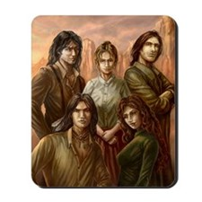 Original cover art for The Five Dollar M Mousepad