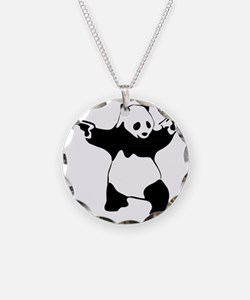 Panda guns Necklace