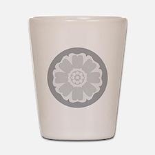 White Lotus Tile Shot Glass