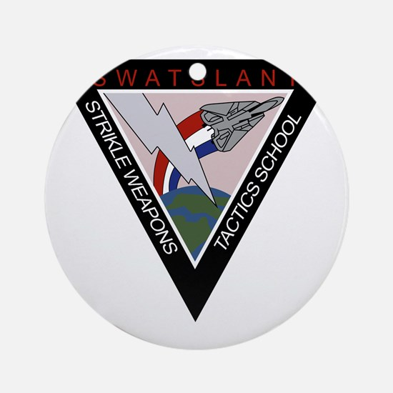 VF - STRIKE WEAPONS TACTICS SCHOOL  Round Ornament