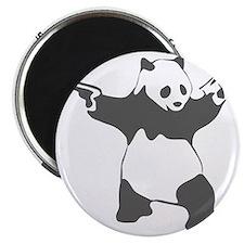 Panda guns Magnet