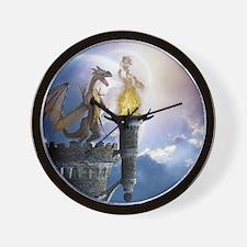 dl2_king_duvet_2 Wall Clock