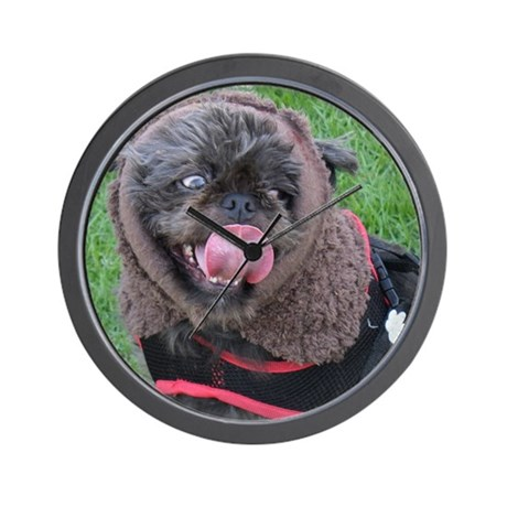 It's a real live Ewok! Wall Clock