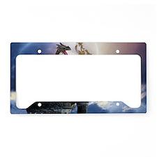 dl2_Rectangular Canvas Pillow License Plate Holder