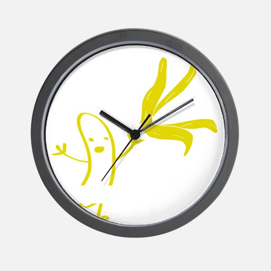 Banana dance Wall Clock