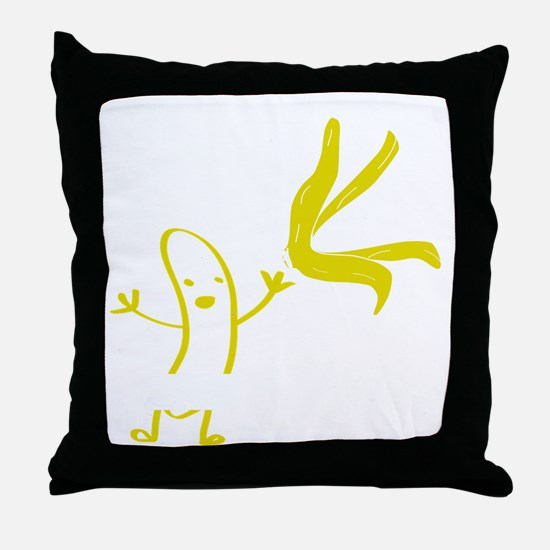 Banana dance Throw Pillow