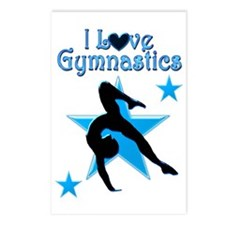 DAZZLING GYMNAST Postcards (Package of 8)