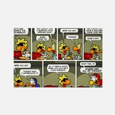2L0078 - Generous Chuck Rectangle Magnet