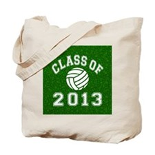 Class Of 2013 Volleyball Tote Bag